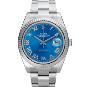 Blue-Datejust-Rolex