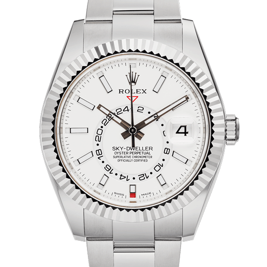 Sky-Dweller-Rolex-White-Face