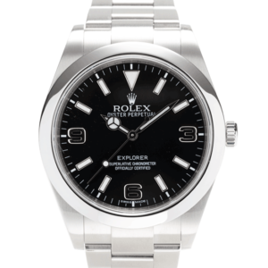 Rolex Explorer Black 214270 face