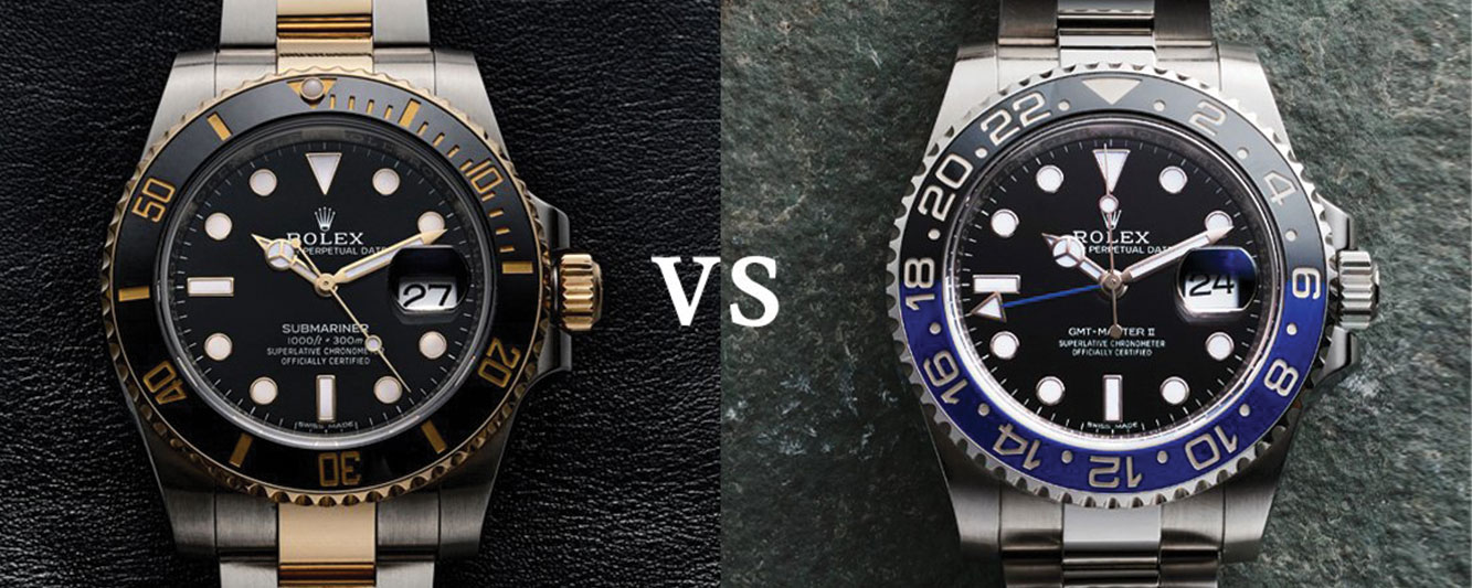 The Rolex Submariner and GMT-Master II: A Comparison of Two Classics Blog Banner image