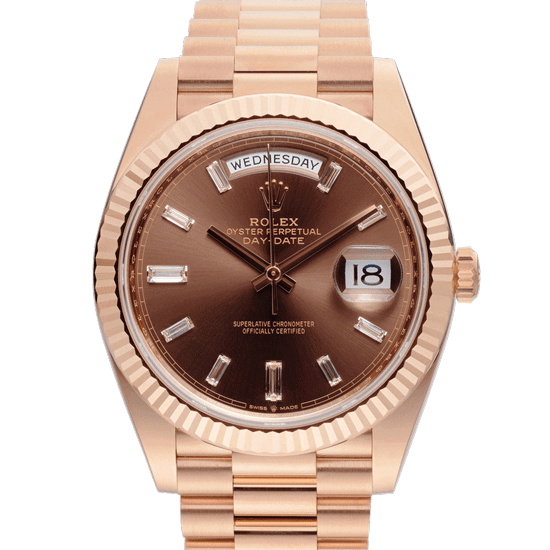 Chocolate-DayDate-Rolex-Face