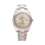 Rolex Oyster Perpetual Datejust Ii 126301g Sundust Set Dial Color Watch Front View 2