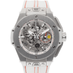 Hubolt Grey Dial Color Watch Front View