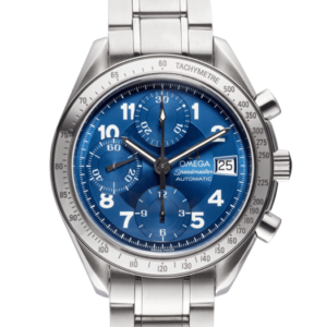 Omega Speedmaster 3212.80.00 Blue Dial Color Watch Front View