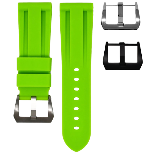 Panerai Horus Strap Lime Solid View 2