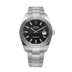 Rolex Oyster Perpetual Datejust Ii Ref. 126334 Black Dial Color Watch Front View