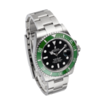 Rolex Submariner Date 126610lv Black Dial Color Watch Side View 3