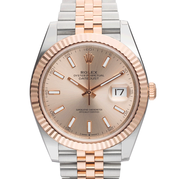Datejust-Rosegold-Face
