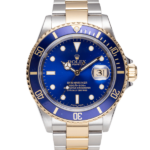 Rolex Submariner Date Ref. 16613 Blue Dial Color Watch Front View 2