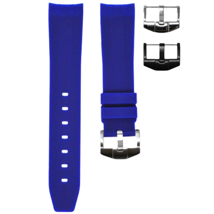 Omega Horus Strap Blue Solid View 1