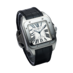 Cartier Santos 100 Large Ref. W20073x8 Watch front View 2