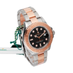 Rolex Two-tone Sea-dweller Ref. 126603 Black Dial Color Watch Side View