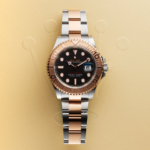 Rolex Two-tone Sea-dweller Ref. 126603 Black Dial Color Watch Top View 5