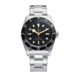 Tudor Black Bay 41 Mm 79230n Black With Pink Index Dial Color Watch Front View