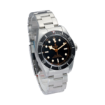 Tudor Black Bay 41 Mm 79230n Black With Pink Index Dial Color Watch Side View 1