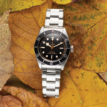 Tudor Black Bay 41 Mm 79230n Black With Pink Index Dial Color Watch Top View 1