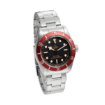 Tudor Black Bay 79230r Black And Red Color Watch Side View 4