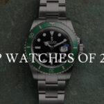 Top Watches Of 2020 Rolex Submariner Date with green bezel and black dial