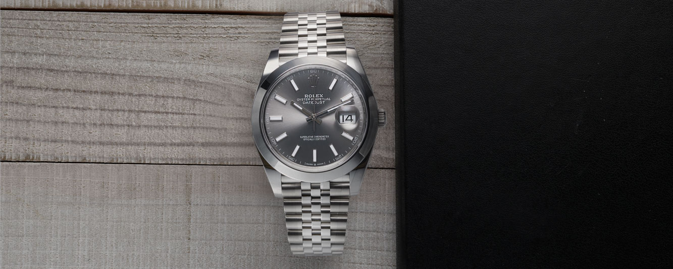 The Rolex Datejust in stainless steel with a jubilee bracelet on Valentine's Day 2021 would be the perfect gift.
