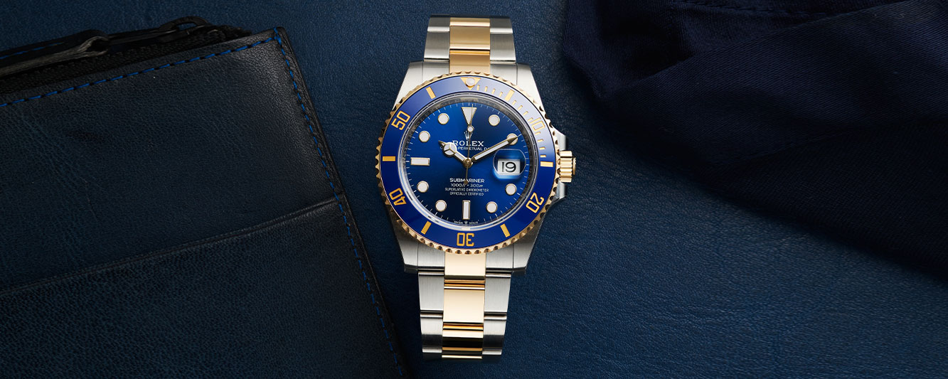 Two-Tone Rolex Submariner 126613LB for her on Valentine's Day 2021