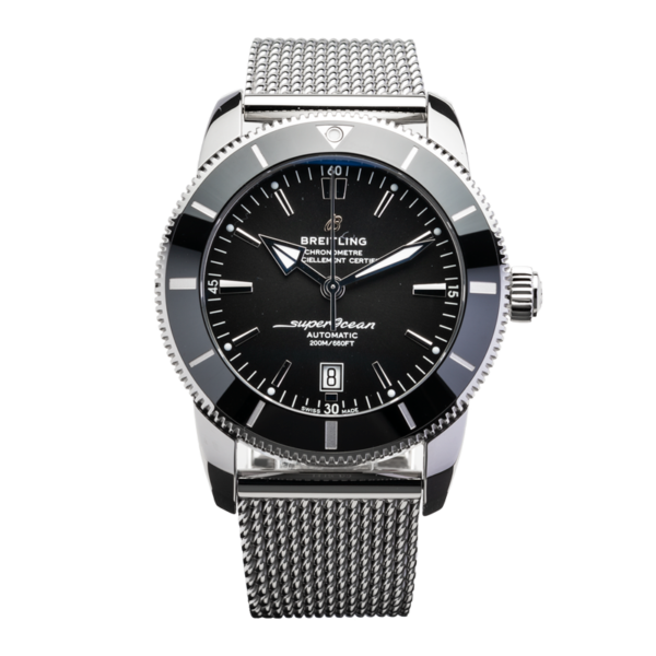 Breitling SuperOcean Heritage B20 Automatic 44 mm Ref. AB2020121B1A1 watch front view 5