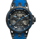 Roger Dubuis Excalibur Spider Ref. Dbex0857 Skeleton, See Through Watch Front View
