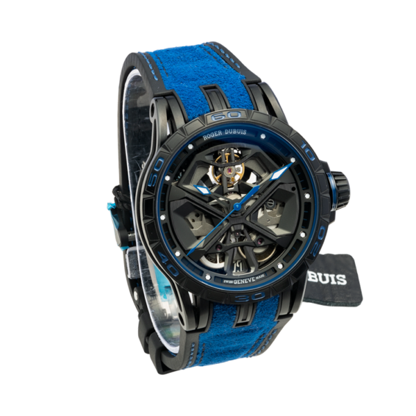 Roger Dubuis Excalibur Spider Huracán Rddbex0749 Watch Front View 3