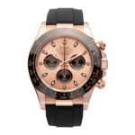 Rolex Cosmograph Daytona Rose Gold Ref. 116515ln Watch Front View