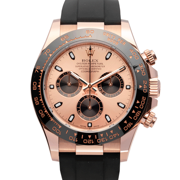 Rolex Cosmograph Daytona Rose Gold Ref. 116515ln Watch Front View 4