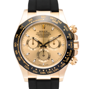 Yellow Gold Rolex Daytona Oysterflex Face