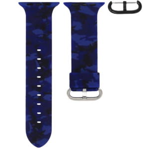 Apple Watch Blue Camo
