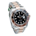 Rolex GMT Master 2 Root Beer Face Two Tone Rose Gold