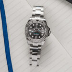 Rolex Yacht Master Rolesium Slate Grey White Gold Oystersteel