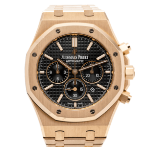 Audemars Piguet Royal Oak Chornograph Rose Gold Black Dial Ref. 26320OR.OO.1220OR.01