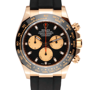 Rolex Cosmograph Daytona Yellow Oysterflex Black and Champagne Dual Dial