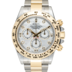 Rolex Two Tone Mother of Pearl Dial Yellow Gold Cosmograph Daytona Ref. 116503
