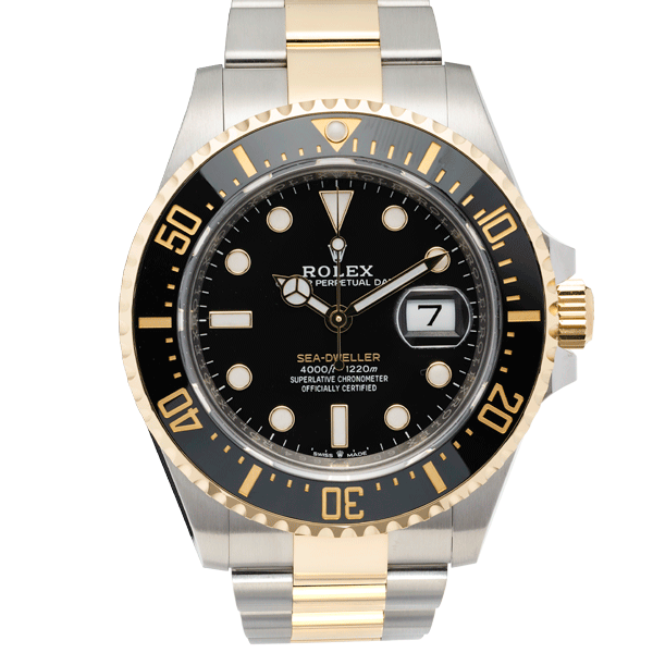 Rolex Sea Dweller Two Tone Yellow Gold 43 MM Ref. 126603
