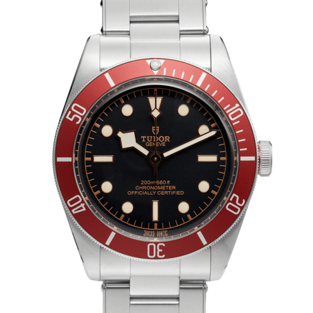 Tudor Black Bay 79230r Black And Red Color Watch Front View 4