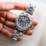 Lifestyle Rolex Yacht-Master Slate Dial Rolesium 40 MM Stainless Steel Ref. 268622