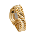 Bracelet Clasp Rolex Day-Date Presidential Watch Champagne Dial 40 MM 18 ct Yellow Gold Ref. 228348RBR