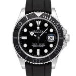 Rolex Yacht-master 42 Mm Oysterflex Ref. 226659 Black Dial Color Watch Front View 2