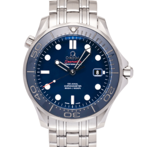 Omega Seamaster Diver Co-Axial Chronometer 41 MM Blue Dial Ref. 212.30.41.20.03.001