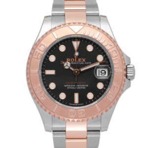 Rolex Yacht-Master I Two-Tone Rose Gold Oyster Bracelet with Black dial Ref. 268621