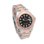 Rolex Yacht-master Rose Gold Ref. 268621 Black Dial Color Watch Side View 1