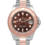 Rolex Yacht-Master Two-Tone Rose Gold Chocolate Dial 37 MM Ref. 268621