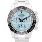 Rolex Oyster Perpetual Cosmograph Blue Dial Color Watch Front View
