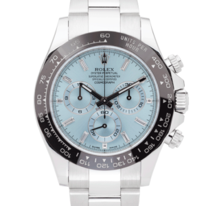 Rolex Cosmograph Daytona Platinum Ice Blue Diamond Dial 40 MM Ref. 116506