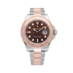 Rolex Yachtmaster Rosegold Brown Dial-Full