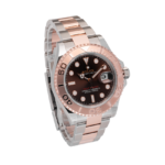 Rolex Yachtmaster Rosegold Brown Dial-Side