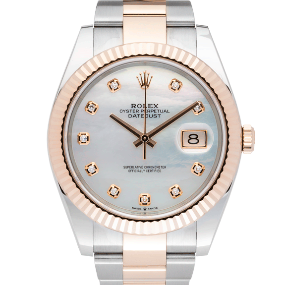Rolex Datejust Pearl 41mm-Face2
